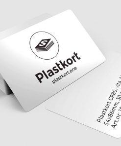 Vita plastkort